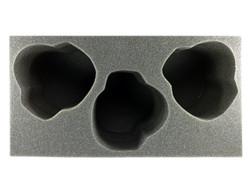 (Tyranids) 3 Trygon Foam Tray (BFM-6)