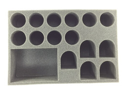 (Space Marine) 1 Rhino 5 Terminator 10 Troop Foam Tray (BFS-3)