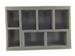 (W/H) 5 Large Warjack 2 Medium Warjack Foam Tray (BFS-2.5)