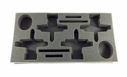 (Team Yankee) Flames of War US A-10 Warthog Fighter Flight Foam Tray (BFM-1.5)