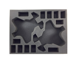 (Deathwatch) 2 Corvus Blackstar 12 Assault Marine Foam Tray (BFL-3)