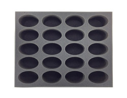 (Space Marines) 20 Space Marine Bike Foam Tray (BFL-3)