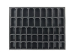 (Hobby) 18 GW Larger Shade 30 Paint Pot Foam Tray (BFL-1)