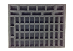 40 Small 6 Large 8 Tall Model Troop Foam Tray (BFL-1.5)