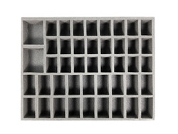 24 Medium 18 Large 2 X-Large Troop Foam Tray (BFL-2)