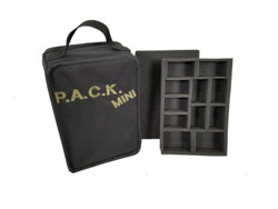 (Mini) P.A.C.K. Mini 2.0 Kill Team Troop and Pluck Foam Load Out (Black)