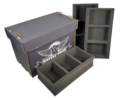 Battle Foam Medium Stacker Box with POP Load Out (Black)