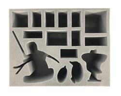 Age of Sigmar Slaanesh Keeper of Secrets and Character Foam Tray (BFL-4.5)
