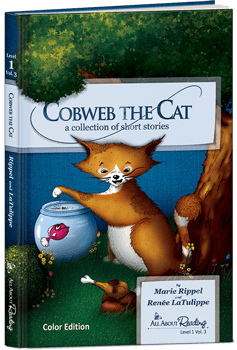 All About Reading Cobweb The Cat