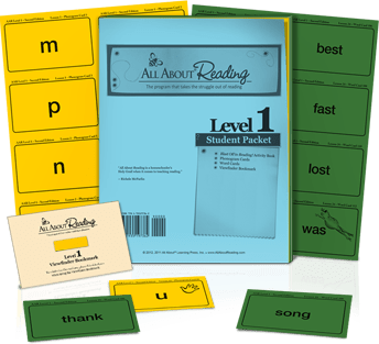 All About Reading Student Packet
