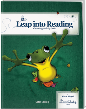 All About Reading Level 2 Activity Book Leap Into Reading