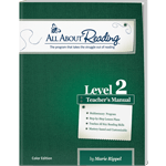 All About Reading Level 2 Teacher's Manual