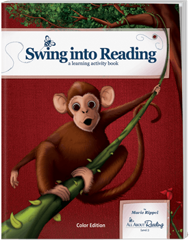 All About Reading Level 3 Swing Into Reading Activity Book