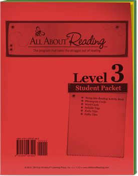 All About Reading Level 3 Student Packet