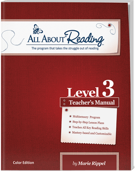 All About Reading Level 3 Teacher's Manual