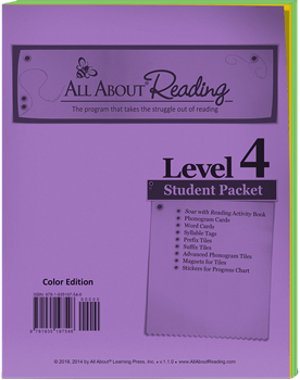 All About Reading Level 4 Student Packet Cover
