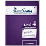 All About Reading Level 4 Teacher's Manual