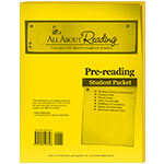 All About Reading Pre-reading Student Packet
