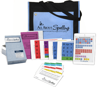All About Spelling Deluxe Interactive Kit