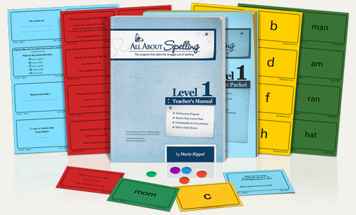 All about spelling homeschool spelling curriculum online all about spelling level 1 fandeluxe Images