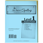 All About Spelling Level 1 Student Packet
