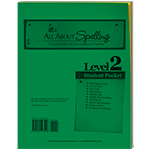 All About Spelling Level 2 Student Packet