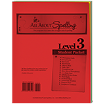 All About Spelling Level 3 Student Packet