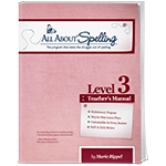 All About Spelling Level 3 Teacher's Manual