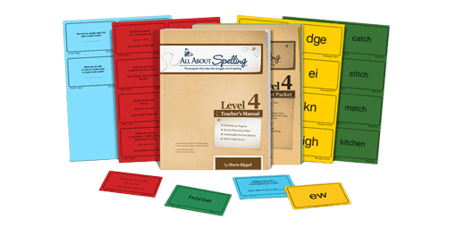 All About Spelling Level 4 sample