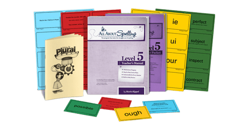 All About Spelling Level 5 sample