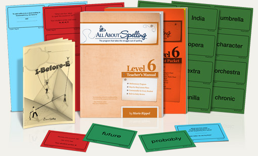 All about spelling homeschool spelling curriculum online all about spelling level 6 fandeluxe Images