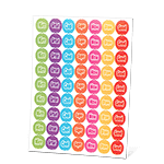 Happy Words Stickers