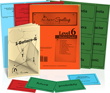 All About Spelling Level 6 Student Packet