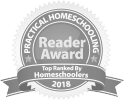 Practical Homeschooling Reader Award