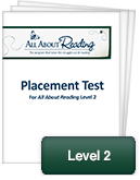 All About Reading Level 2 Placement Test
