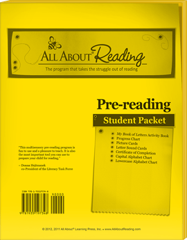 pre-reading student packet
