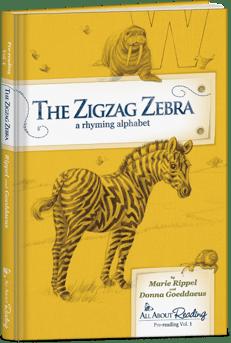 pre-reading zigzag zebra