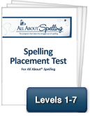 All About Spelling Placement Guide