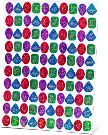 """All About Spelling Level 4 """"Glimmering Gem"""" Stickers"""