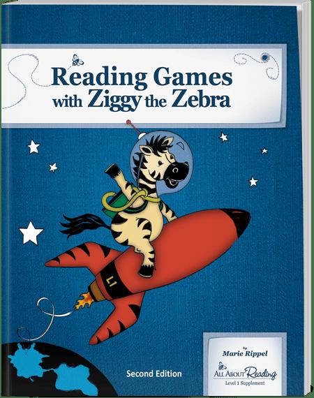 Reading Games with Ziggy the Zebra
