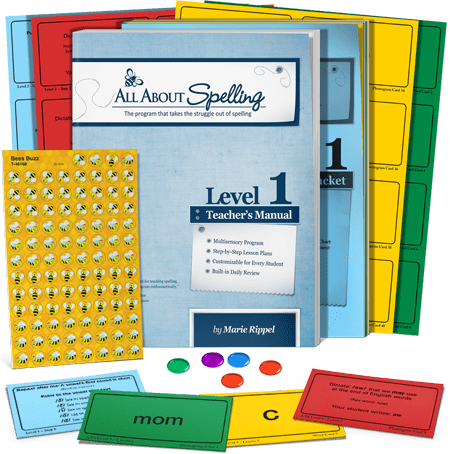 All About Spelling Level 1 Materials All About Learning Press Inc