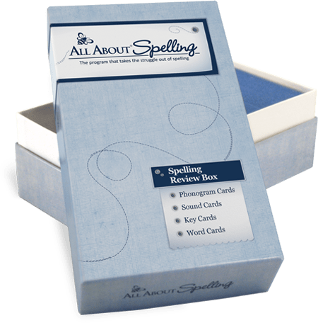 All About Spelling Review Box