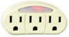 CHICAGO 3-Outlet Adapter With Light