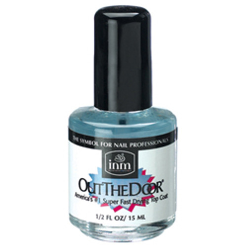 INM-Out The Door Super Fast Drying Top Coat  0.5oz.