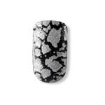 Dashing Diva - Metallic Crackle Nails - Heavy Metal