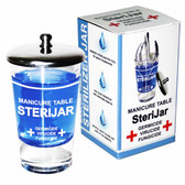 Berkeley - Manicure Table SteriJar Small 4oz