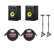 KRK Krk Rokit 5 Studio Monitor Bundle