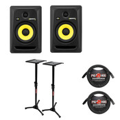 KRK KRK Rokit6 Studio Monitor Bundle