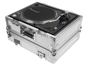 Odyssey FZ1200WT Universal Turntable Flight Case In White