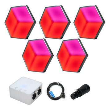 ADJ 3D Vision Sys One LED Panel Bundle